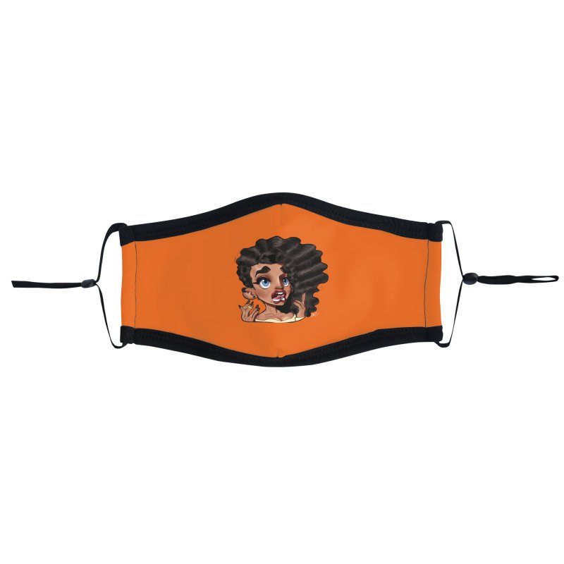 This Is Fine... Accessories Face Mask by Justifiable Concepts Apparel and Goods