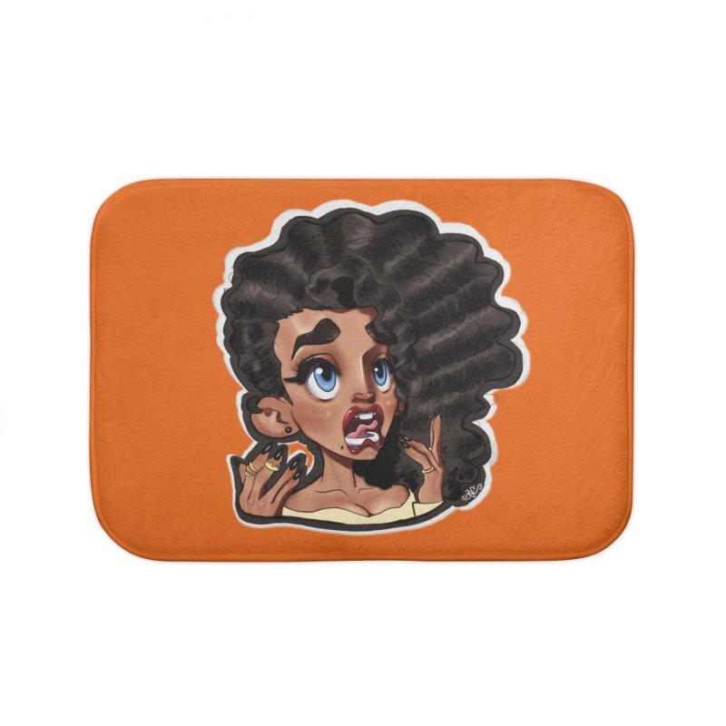 This Is Fine... Home Bath Mat by Justifiable Concepts Apparel and Goods