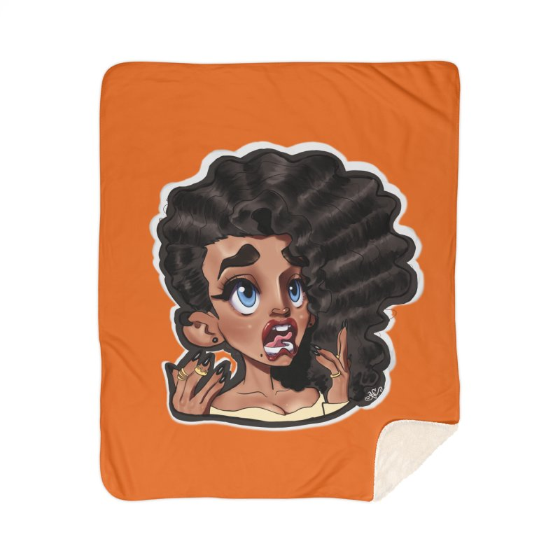 This Is Fine... Home Blanket by Justifiable Concepts Apparel and Goods
