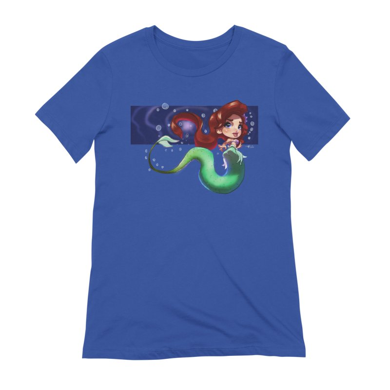 My Heart Is A Part Of Your World Women's T-Shirt by Justifiable Concepts Apparel and Goods