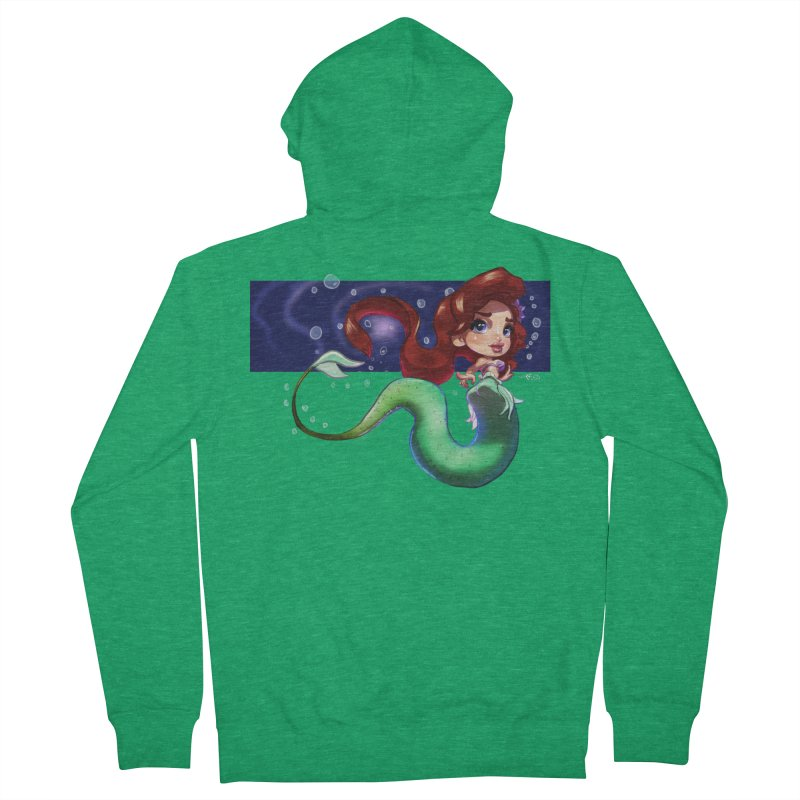 My Heart Is A Part Of Your World Women's Zip-Up Hoody by Justifiable Concepts Apparel and Goods