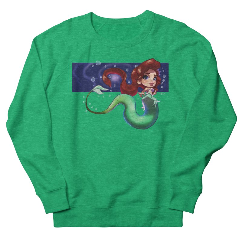My Heart Is A Part Of Your World Women's Sweatshirt by Justifiable Concepts Apparel and Goods