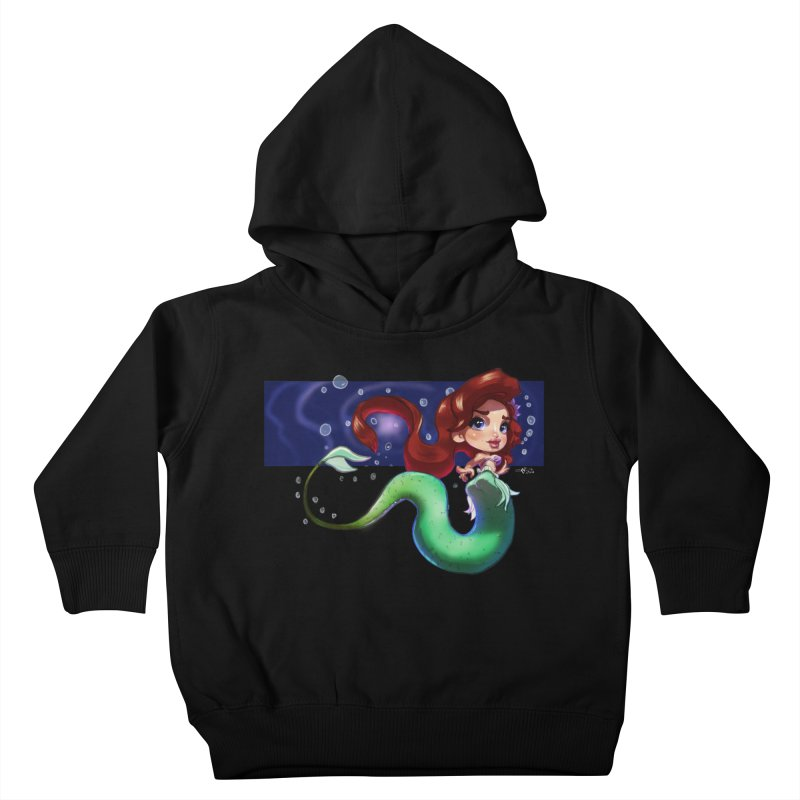 My Heart Is A Part Of Your World Kids Toddler Pullover Hoody by Justifiable Concepts Apparel and Goods