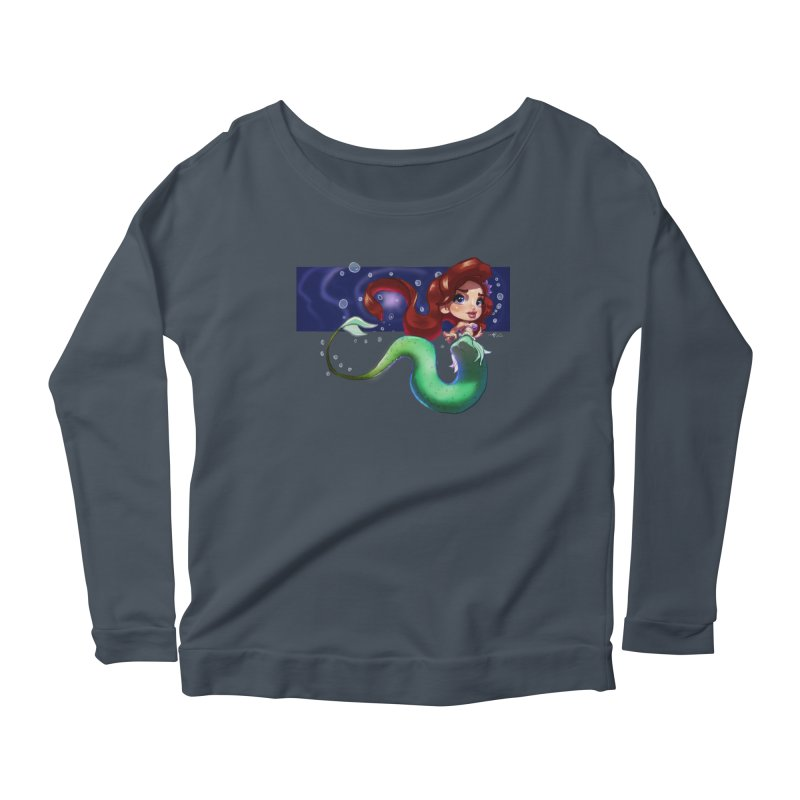 My Heart Is A Part Of Your World Women's Longsleeve T-Shirt by Justifiable Concepts Apparel and Goods