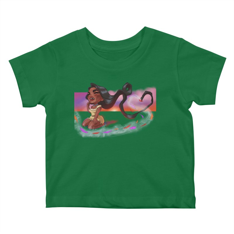 My Heart Sings... Kids Baby T-Shirt by Justifiable Concepts Apparel and Goods