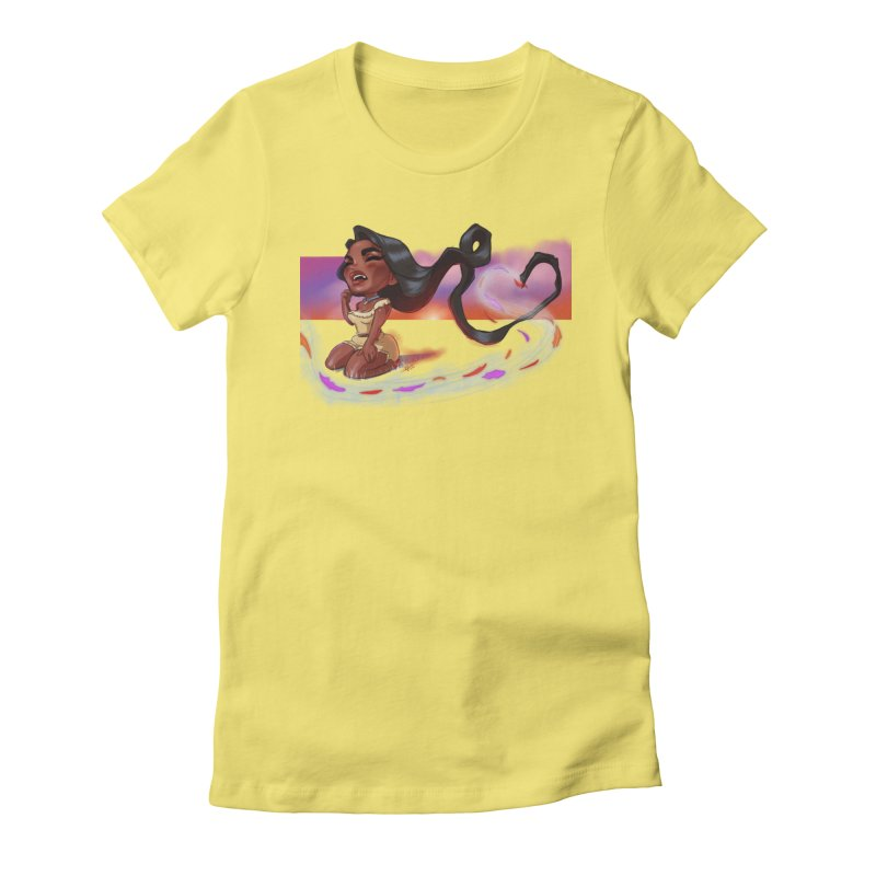 My Heart Sings... Women's T-Shirt by Justifiable Concepts Apparel and Goods