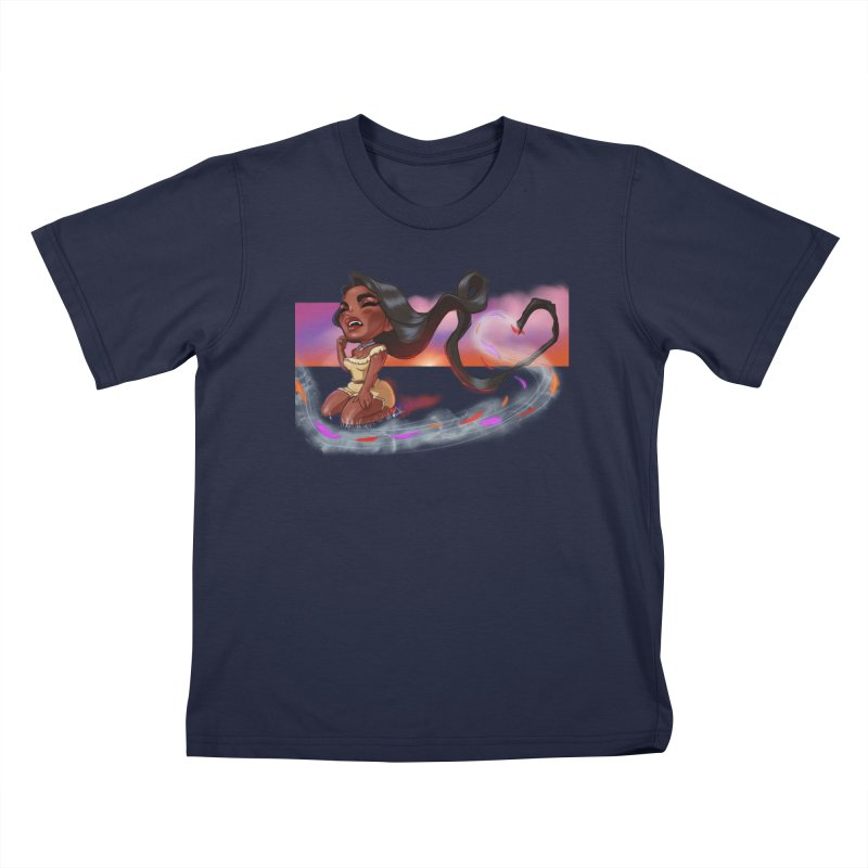My Heart Sings... Kids T-Shirt by Justifiable Concepts Apparel and Goods