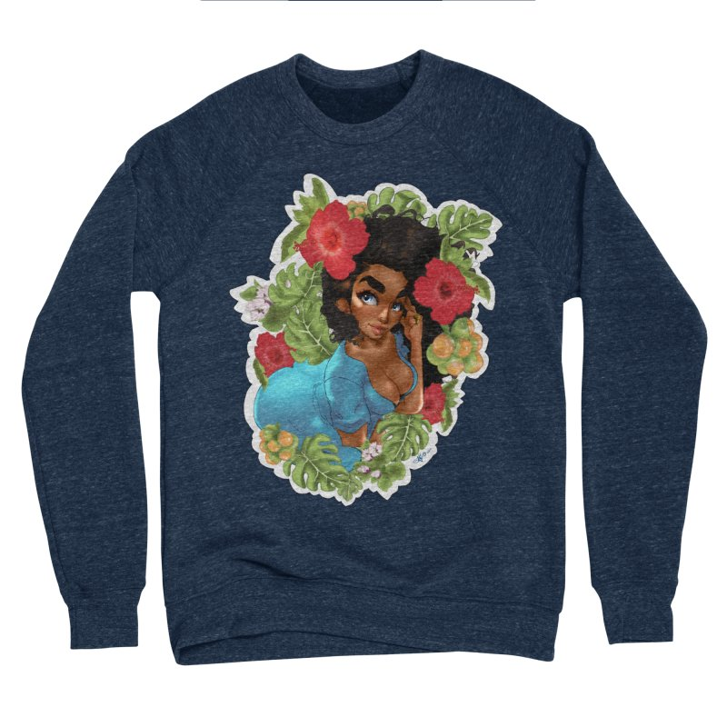 Cutie with the curly hair Women's Sweatshirt by Justifiable Concepts Apparel and Goods