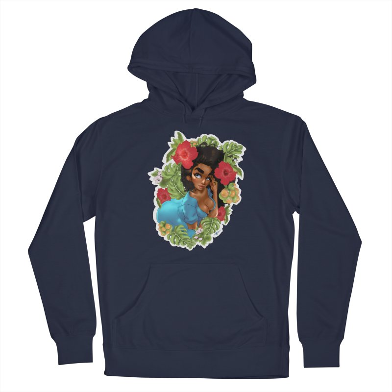 Cutie with the curly hair Men's Pullover Hoody by Justifiable Concepts Apparel and Goods