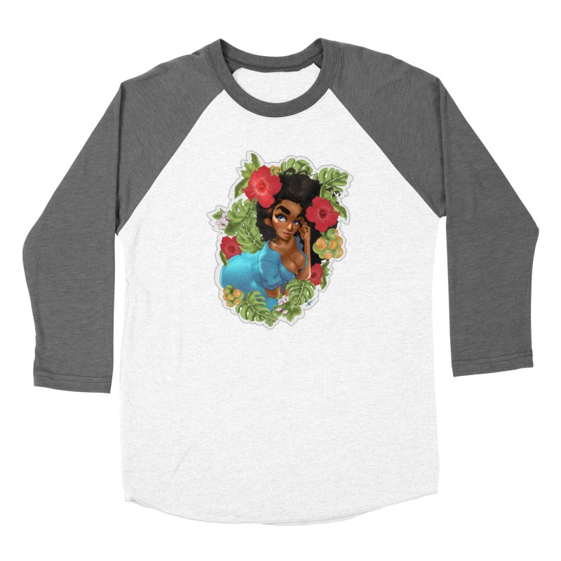 Cutie with the curly hair Women's Longsleeve T-Shirt by Justifiable Concepts Apparel and Goods