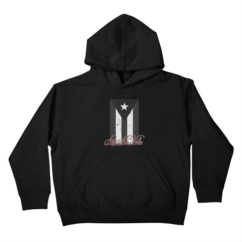 Boricua, Acta Non Verba Kids Pullover Hoody by Justifiable Concepts Apparel and Goods