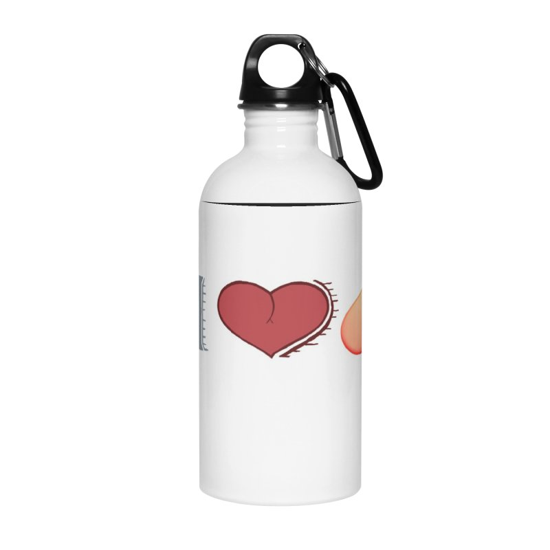 ILuh Peach Accessories Water Bottle by Justifiable Concepts Apparel and Goods
