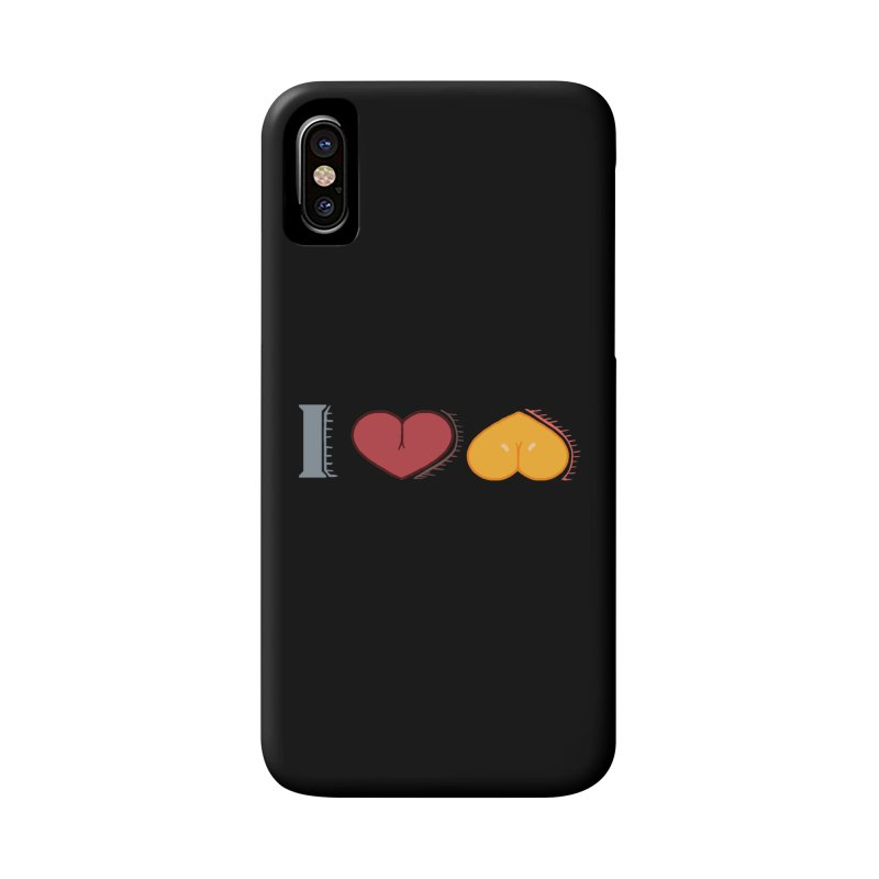 ILuh Melons Accessories Phone Case by Justifiable Concepts Apparel and Goods