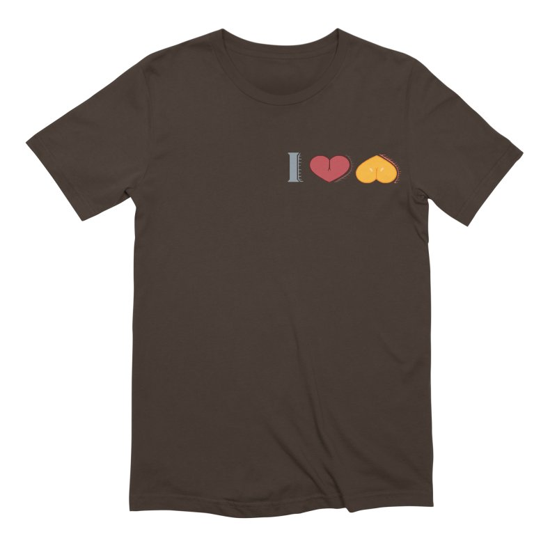 ILuh Melons Men's Extra Soft T-Shirt by Justifiable Concepts Apparel and Goods