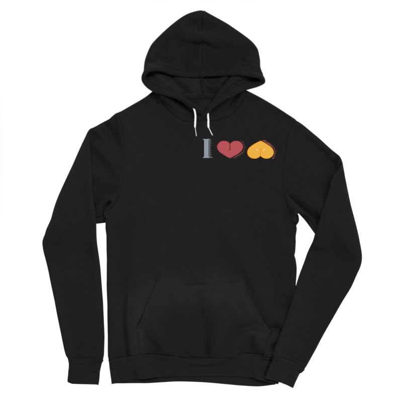 ILuh Melons Men's Sponge Fleece Pullover Hoody by Justifiable Concepts Apparel and Goods
