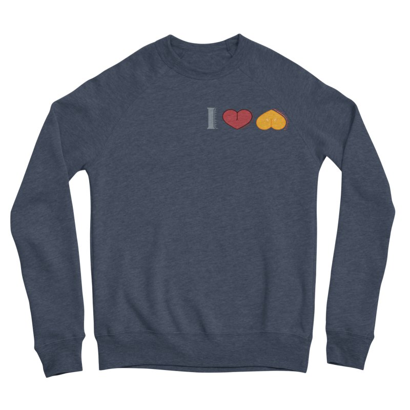 ILuh Melons Men's Sponge Fleece Sweatshirt by Justifiable Concepts Apparel and Goods