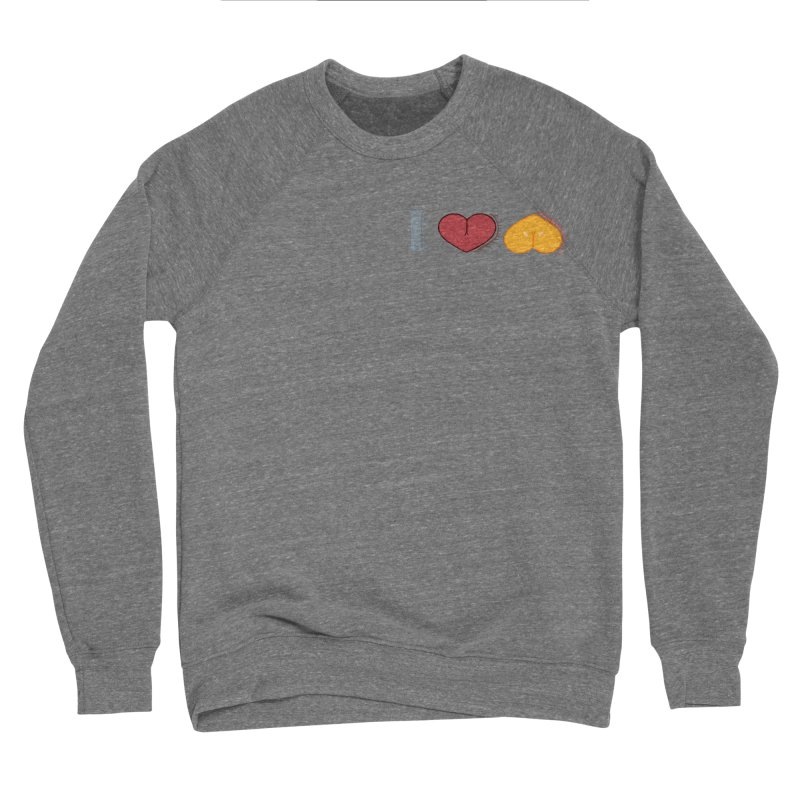ILuh Melons Women's Sponge Fleece Sweatshirt by Justifiable Concepts Apparel and Goods