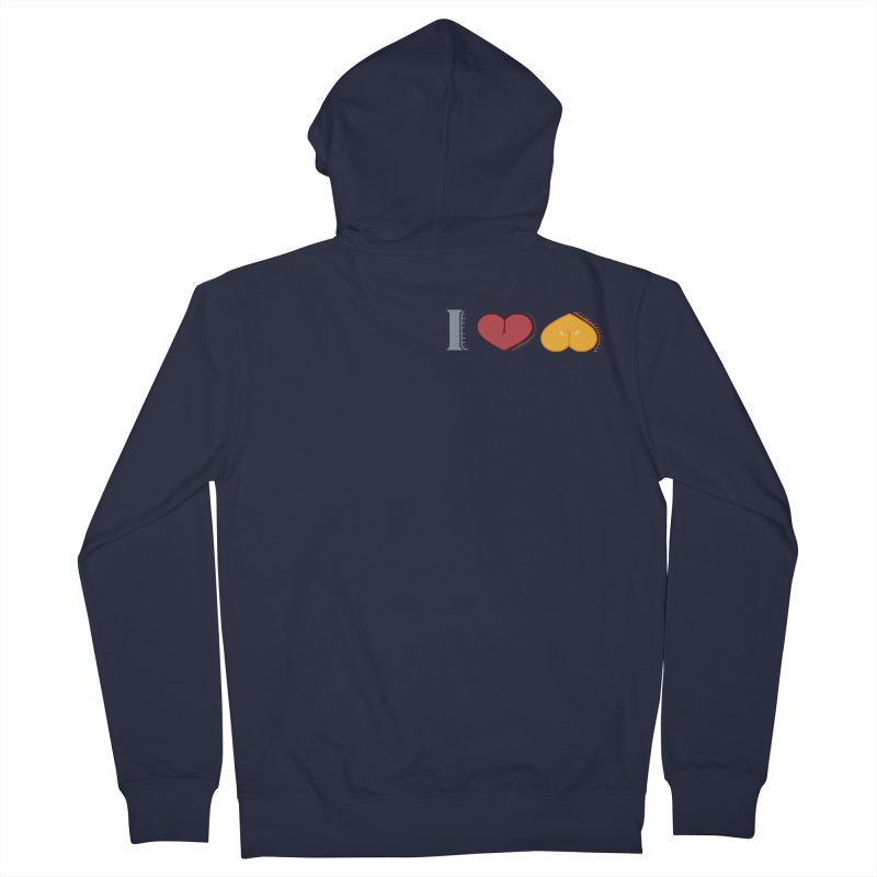 ILuh Melons Women's French Terry Zip-Up Hoody by Justifiable Concepts Apparel and Goods