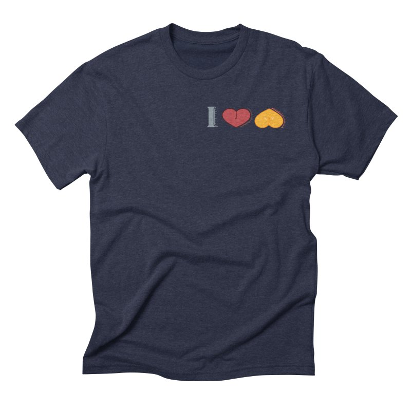 ILuh Melons Men's Triblend T-Shirt by Justifiable Concepts Apparel and Goods