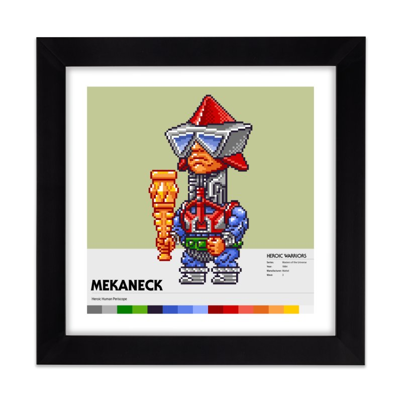 Heroic Human Periscope Home Framed Fine Art Print by Gifts by Gammon