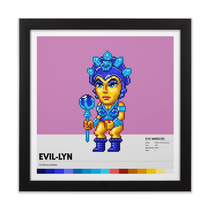 Evil Warrior Goddess Home Framed Fine Art Print by Gifts by Gammon