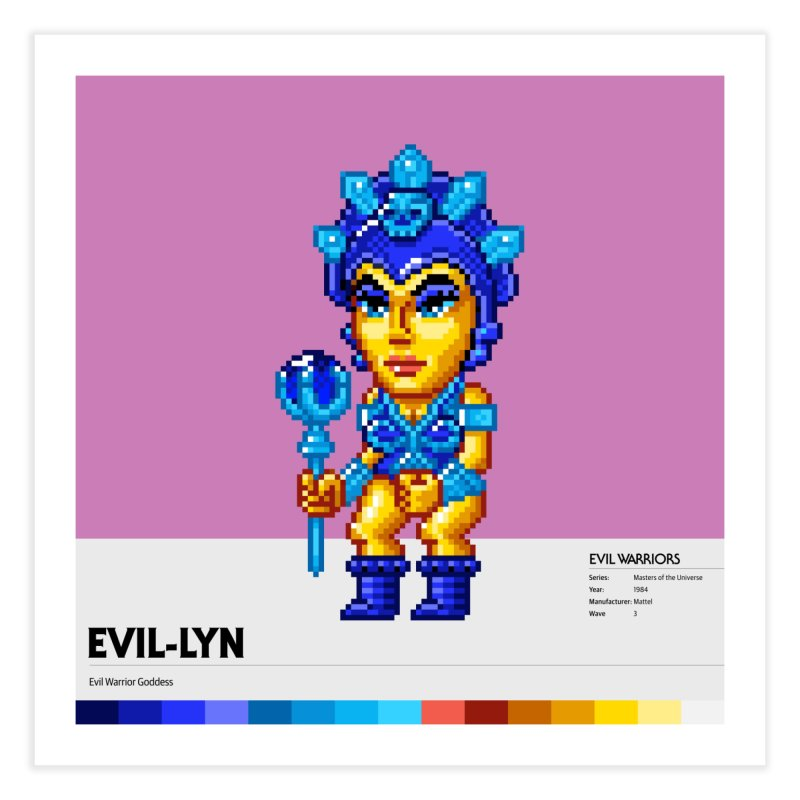 Evil Warrior Goddess Home Fine Art Print by Gifts by Gammon