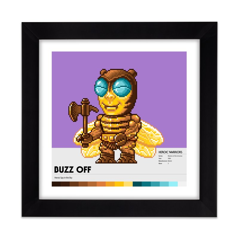 Heroic Spy in the Sky Home Framed Fine Art Print by Gifts by Gammon