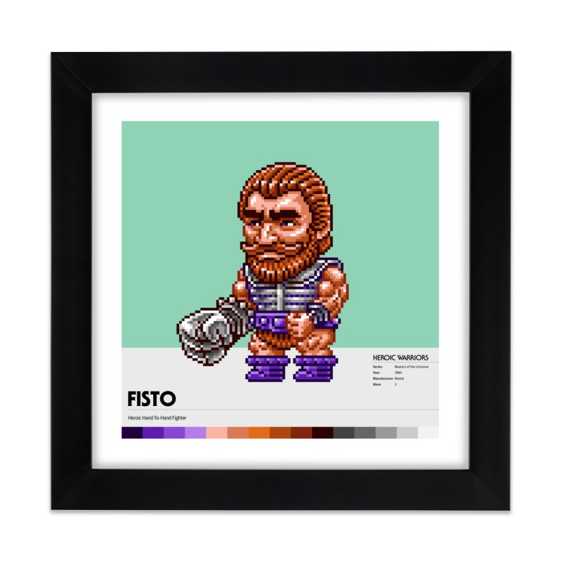 Heroic Hand-To-Hand Fighter Home Framed Fine Art Print by Gifts by Gammon