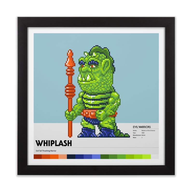 Evil Tail Thrashing Warrior Home Framed Fine Art Print by Gifts by Gammon