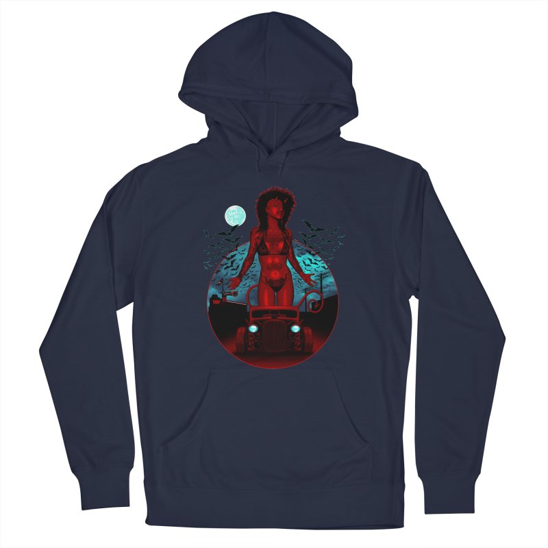 The Devil in Malice shirt Men's Pullover Hoody by Hamptonia, Justin Hampton's Artist Shop