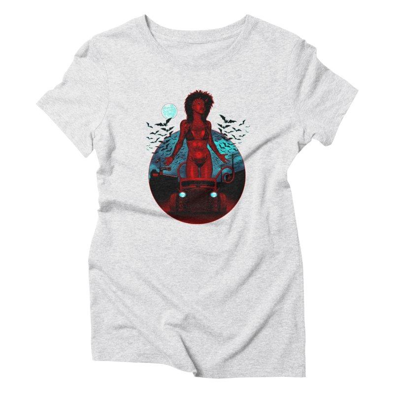 The Devil in Malice shirt Women's T-Shirt by Hamptonia, Justin Hampton's Artist Shop
