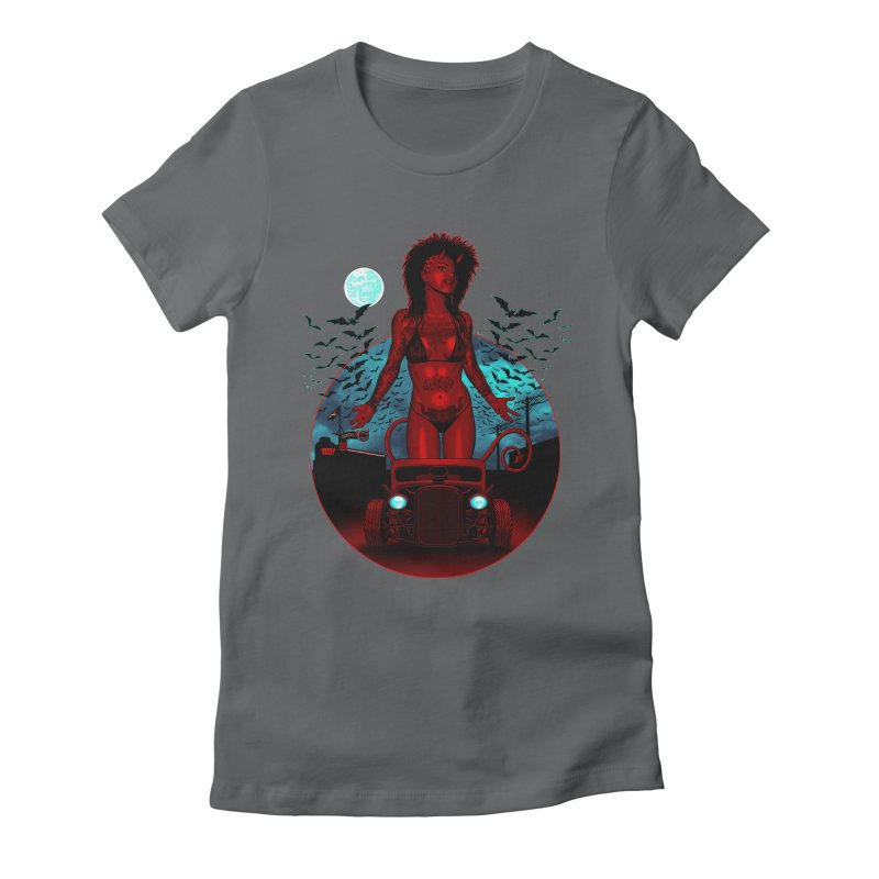 The Devil in Malice shirt Women's T-Shirt by Hamptonia, Justin Hampton's Artist Shop