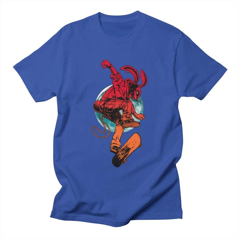 Skate Punk Wabbit Men's T-Shirt by Hamptonia, Justin Hampton's Artist Shop