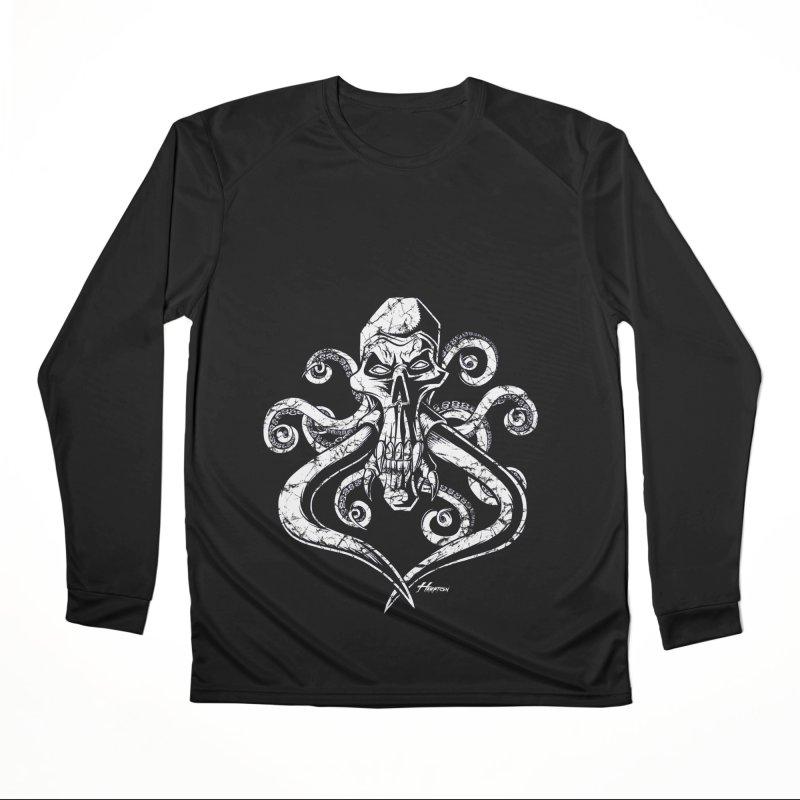 Mastoskullpussy Women's Longsleeve T-Shirt by Hamptonia, Justin Hampton's Artist Shop