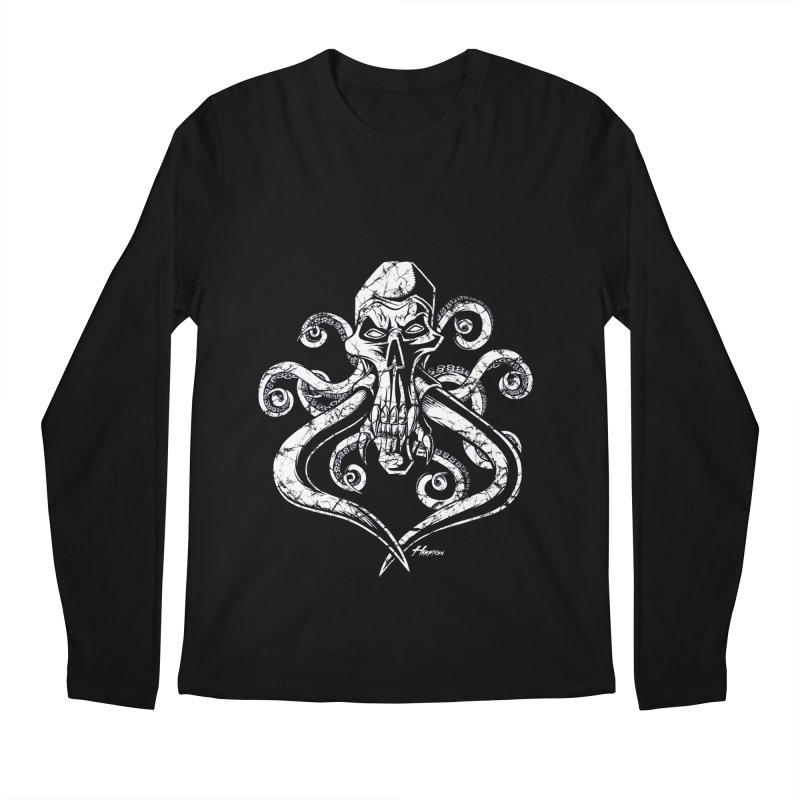 Mastoskullpussy Men's Longsleeve T-Shirt by Hamptonia, Justin Hampton's Artist Shop