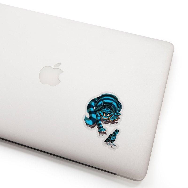 Pretty Birdie Accessories Sticker by Hamptonia, Justin Hampton's Artist Shop