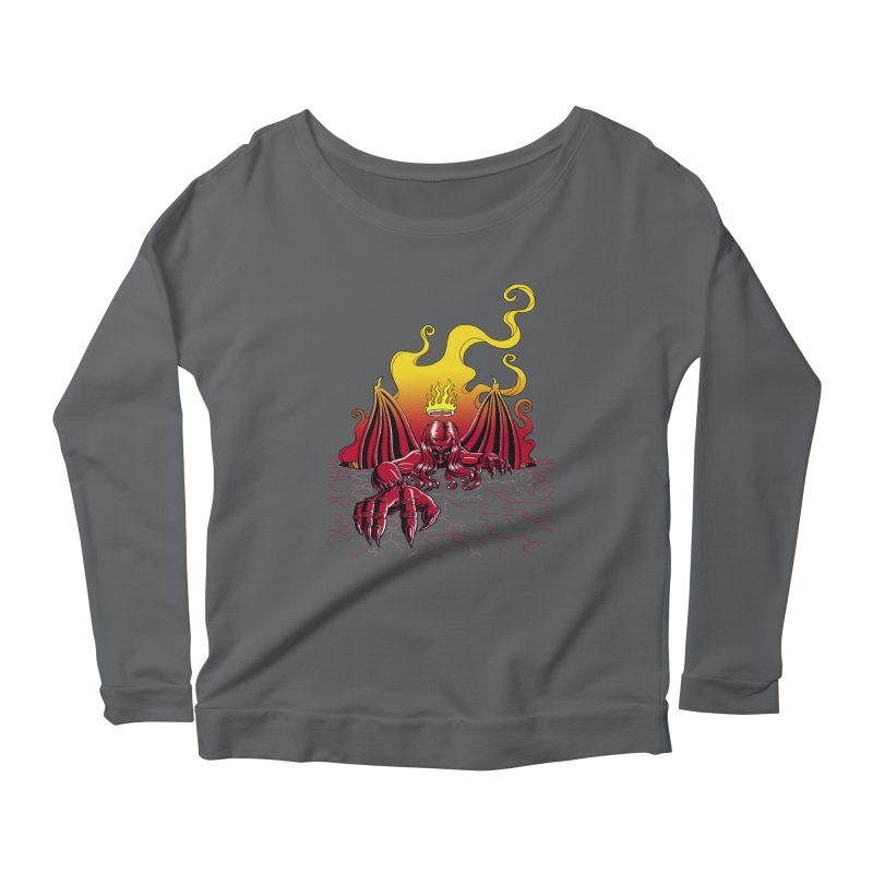 The Fallen Women's Longsleeve T-Shirt by Hamptonia, Justin Hampton's Artist Shop