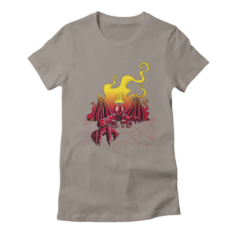 The Fallen Women's T-Shirt by Hamptonia, Justin Hampton's Artist Shop