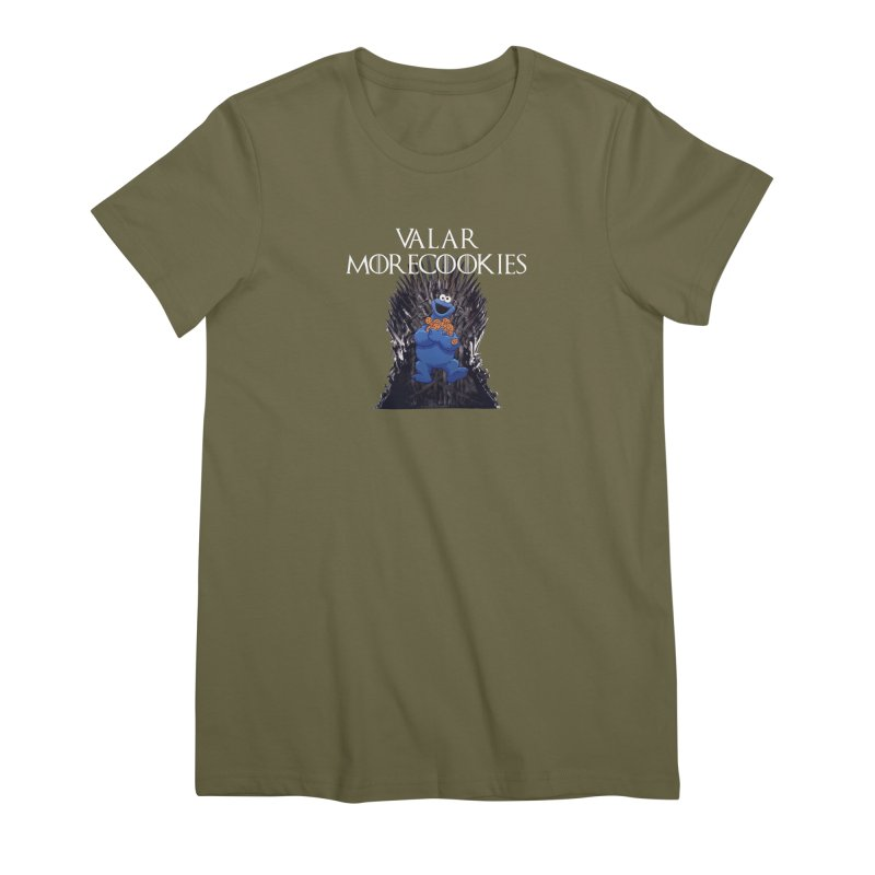 I is for Iron Throne Women's Premium T-Shirt by Justin Tapp's Artist Shop