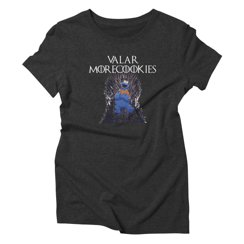 I is for Iron Throne Women's Triblend T-Shirt by Justin Tapp's Artist Shop