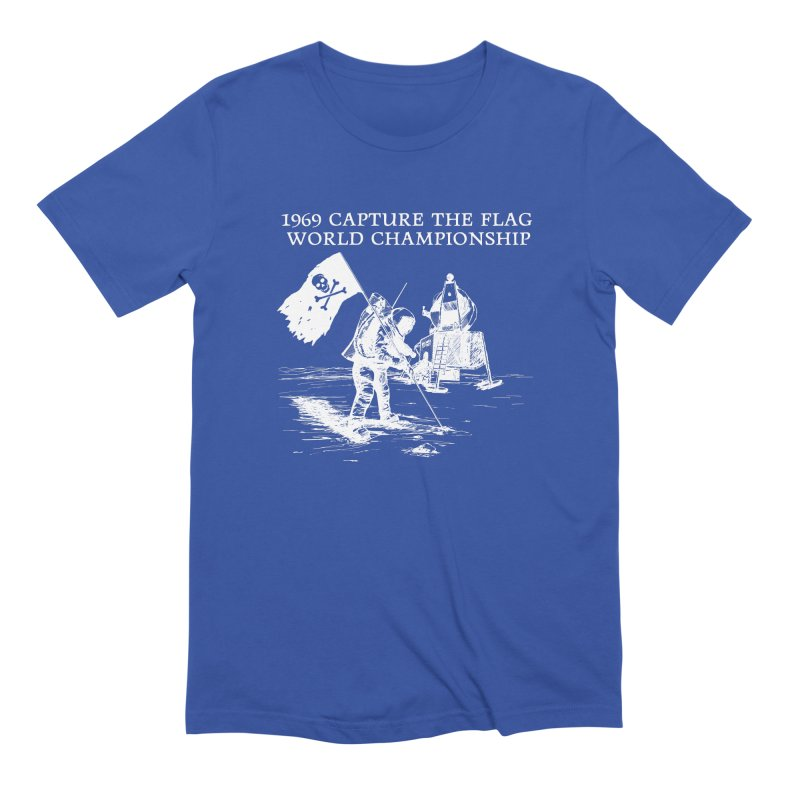 Champion of the World Men's Extra Soft T-Shirt by Justin Tapp's Artist Shop