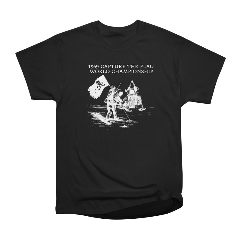 Champion of the World Men's Heavyweight T-Shirt by Justin Tapp's Artist Shop