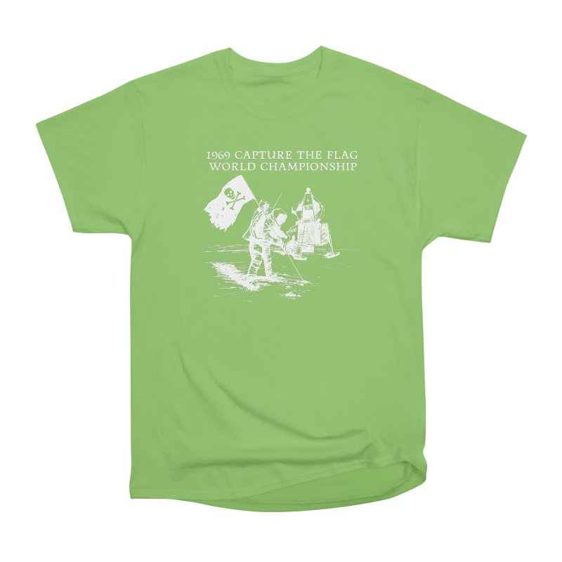 Champion of the World Women's Heavyweight Unisex T-Shirt by Justin Tapp's Artist Shop