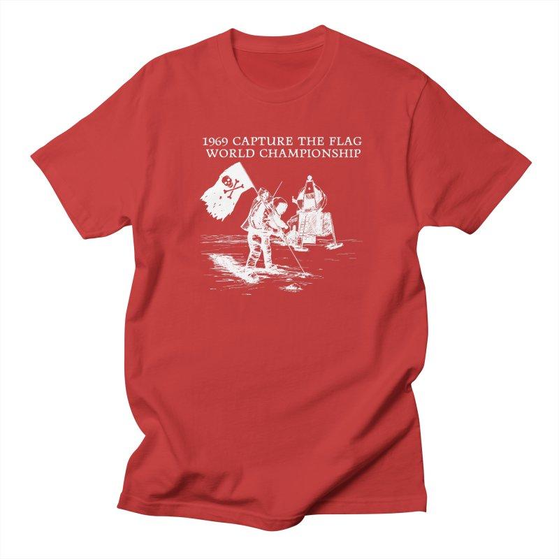 Champion of the World Men's Regular T-Shirt by Justin Tapp's Artist Shop