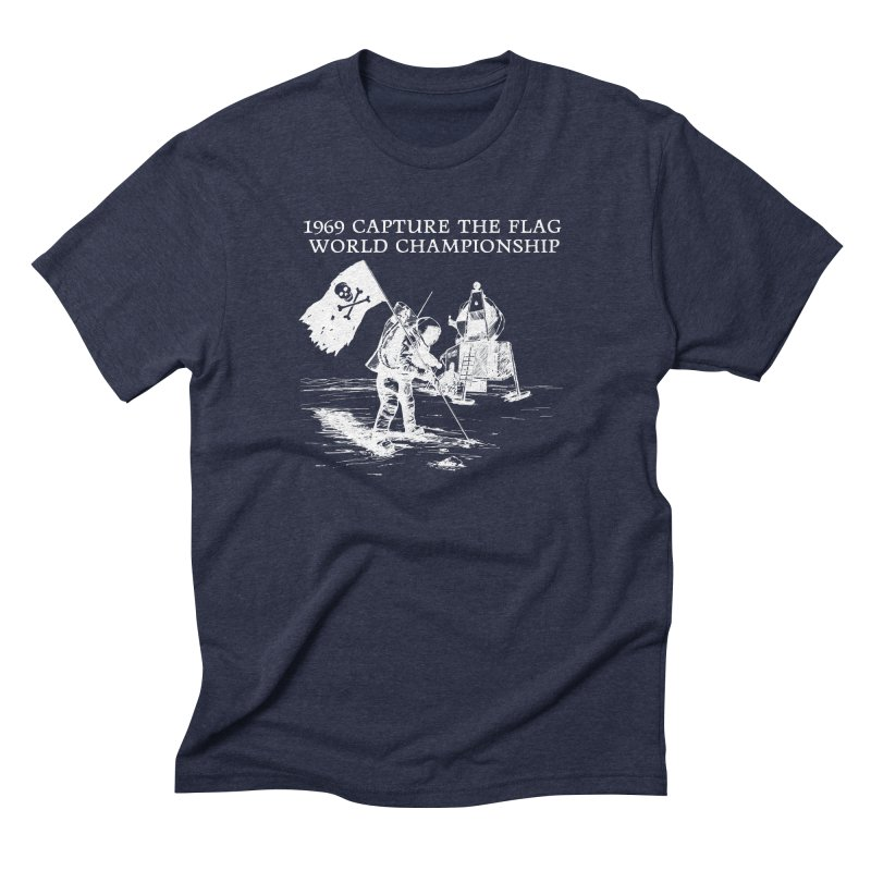 Champion of the World Men's Triblend T-Shirt by Justin Tapp's Artist Shop