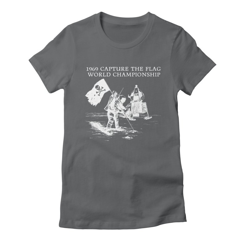 Champion of the World Women's Fitted T-Shirt by Justin Tapp's Artist Shop