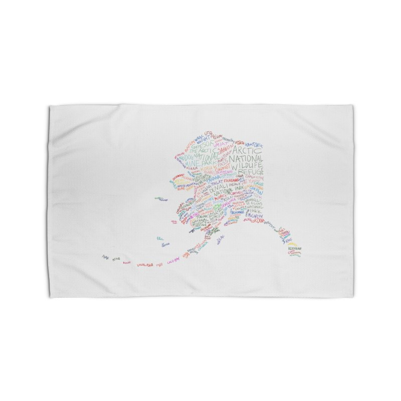 Alaska: Find Your Place Home Rug by Justin Tapp's Artist Shop