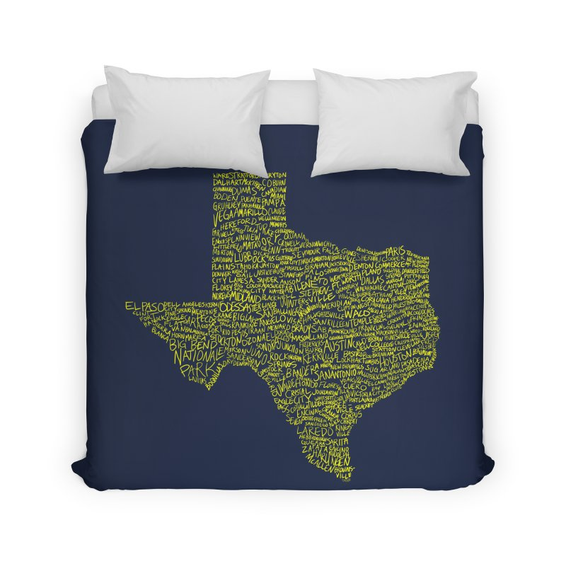Where Y'all From? Home Duvet by justintapp's Artist Shop