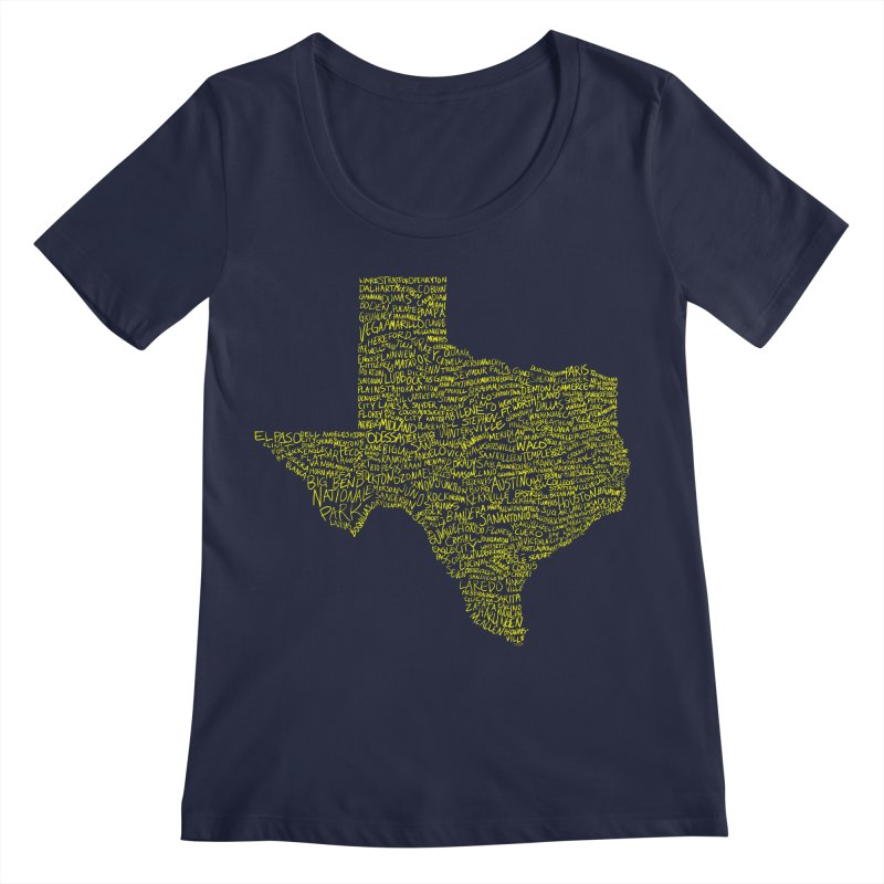 Where Y'all From? Women's Regular Scoop Neck by Justin Tapp's Artist Shop