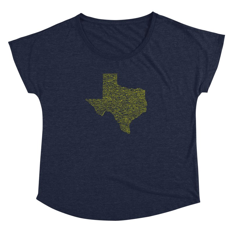 Where Y'all From? Women's Dolman Scoop Neck by Justin Tapp's Artist Shop